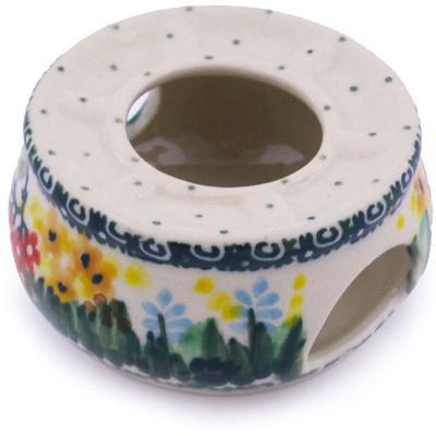 Polish Pottery 2-inch Mini Heater | Boleslawiec Stoneware | Polmedia H5946G