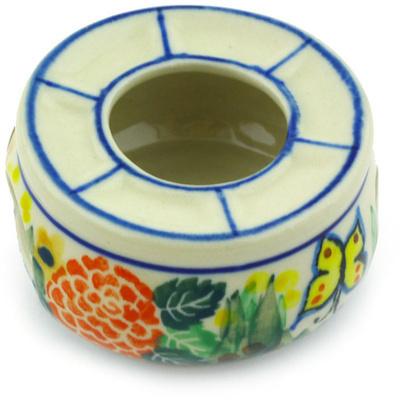 Polish Pottery 2-inch Mini Heater | Boleslawiec Stoneware | Polmedia H4461G