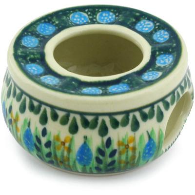 Polish Pottery 2-inch Mini Heater | Boleslawiec Stoneware | Polmedia H6054G