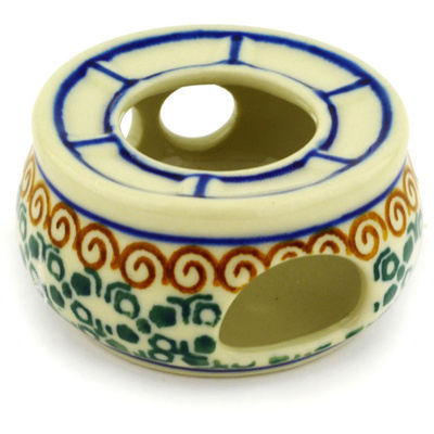 Polish Pottery 2-inch Mini Heater | Boleslawiec Stoneware | Polmedia H2121D