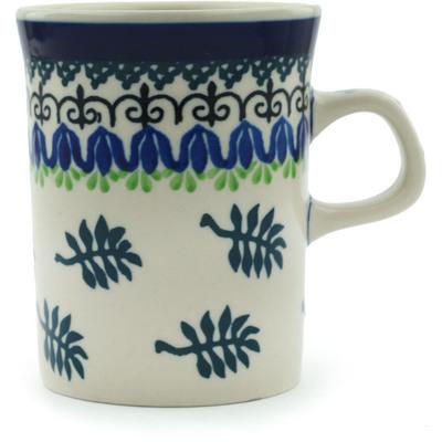 Polish Pottery 8 oz Mug | Boleslawiec Stoneware | Polmedia H0865B