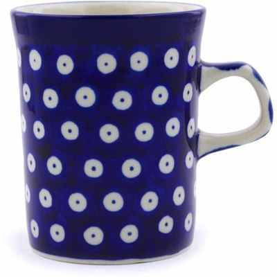 Polish Pottery 8 oz Mug | Boleslawiec Stoneware | Polmedia H3299A