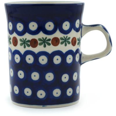 Polish Pottery 8 oz Mug | Boleslawiec Stoneware | Polmedia H3300A