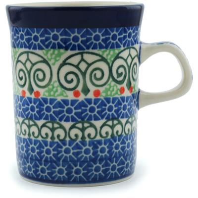 Polish Pottery 8 oz Mug | Boleslawiec Stoneware | Polmedia H3304A