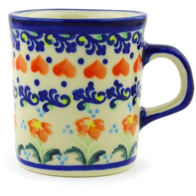 Polish Pottery 5 oz Mug | Boleslawiec Stoneware | Polmedia H2970G