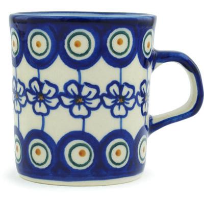 Polish Pottery 5 oz Mug | Boleslawiec Stoneware | Polmedia H3220H