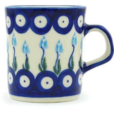 Polish Pottery 5 oz Mug | Boleslawiec Stoneware | Polmedia H1377H