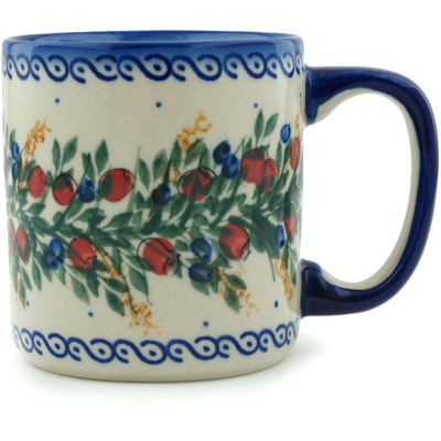 Polish Pottery 13 oz Mug | Boleslawiec Stoneware | Polmedia H1909I