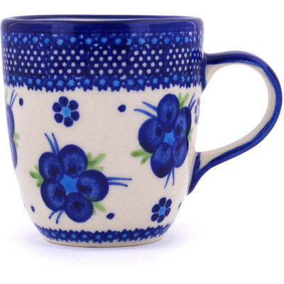 Polish Pottery 11 oz Mug | Boleslawiec Stoneware | Polmedia H7460G