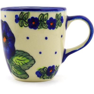 Polish Pottery 11 oz Mug   Boleslawiec Stoneware   Polmedia H1856G