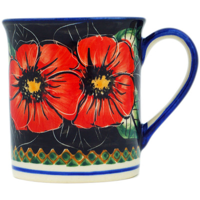 Polish Pottery 8 oz Mug | Boleslawiec Stoneware | Polmedia H0271C