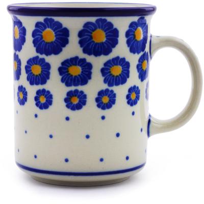 Polish Pottery 10 oz Mug | Boleslawiec Stoneware | Polmedia H7196I