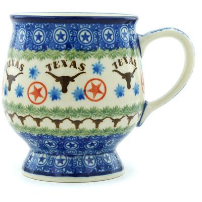Polish Pottery 8 oz Mug | Boleslawiec Stoneware | Polmedia H4713H
