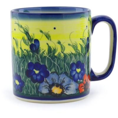 Polish Pottery 13 oz Mug | Boleslawiec Stoneware | Polmedia H1444J