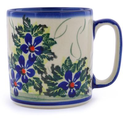 Polish Pottery 13 oz Mug | Boleslawiec Stoneware | Polmedia H1447J