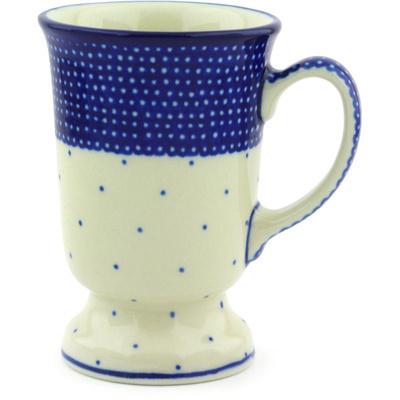 Polish Pottery 8 oz Mug | Boleslawiec Stoneware | Polmedia H3676G