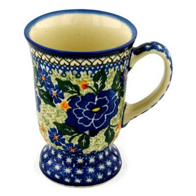 Polish Pottery 8 oz Mug | Boleslawiec Stoneware | Polmedia H4048B