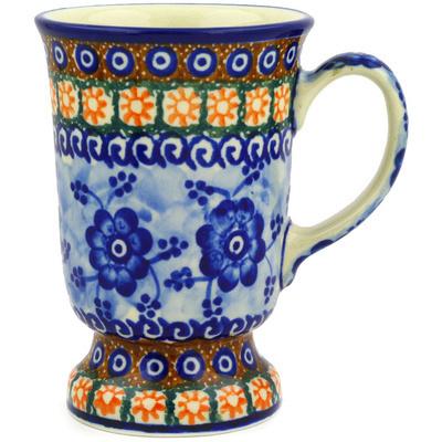 Polish Pottery 8 oz Mug | Boleslawiec Stoneware | Polmedia H4400A