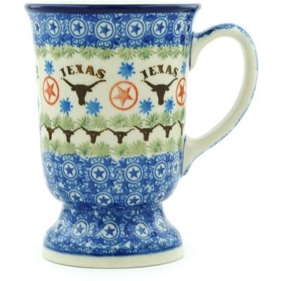 Polish Pottery 8 oz Mug | Boleslawiec Stoneware | Polmedia H4731H