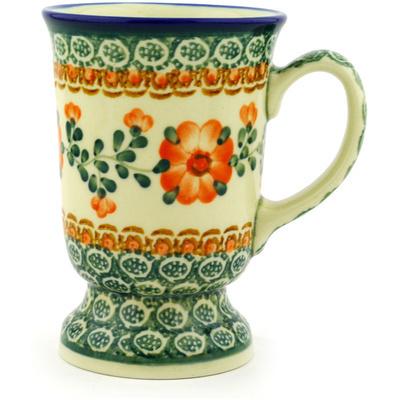 Polish Pottery 8 oz Mug | Boleslawiec Stoneware | Polmedia H2419D