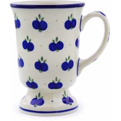 Polish Pottery 8 oz Mug | Boleslawiec Stoneware | Polmedia H4405A