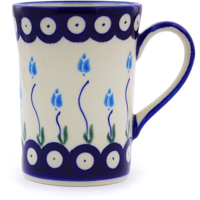 Polish Pottery 8 oz Mug | Boleslawiec Stoneware | Polmedia H9865I