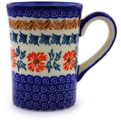 Polish Pottery 8 oz Mug | Boleslawiec Stoneware | Polmedia H9507I