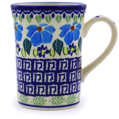 Polish Pottery 8 oz Mug | Boleslawiec Stoneware | Polmedia H0182J