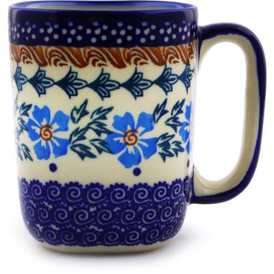 Polish Pottery 10 oz Mug | Boleslawiec Stoneware | Polmedia H9515I