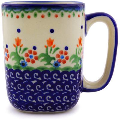 Polish Pottery 10 oz Mug | Boleslawiec Stoneware | Polmedia H9505I