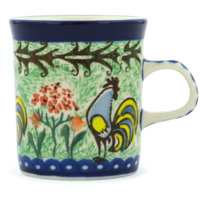 Polish Pottery 5 oz Mug | Boleslawiec Stoneware | Polmedia H9142G