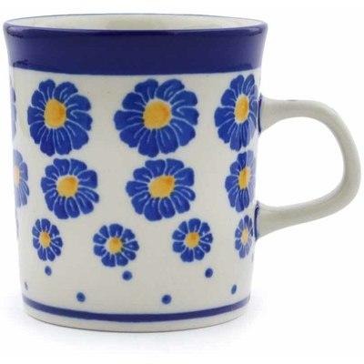 Polish Pottery 5 oz Mug | Boleslawiec Stoneware | Polmedia H0293J