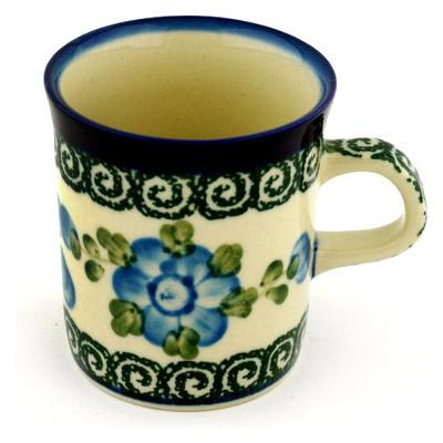 Polish Pottery 5 oz Mug | Boleslawiec Stoneware | Polmedia H0274B