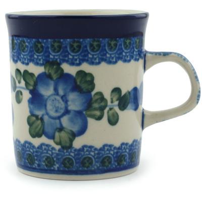 Polish Pottery 5 oz Mug | Boleslawiec Stoneware | Polmedia H6421B