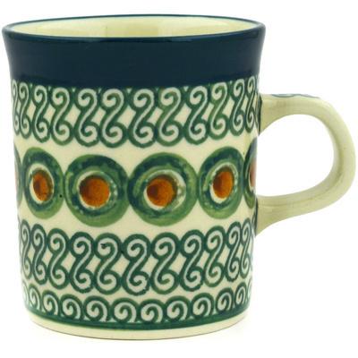 Polish Pottery 5 oz Mug | Boleslawiec Stoneware | Polmedia H1828E