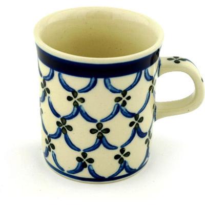 Polish Pottery 5 oz Mug | Boleslawiec Stoneware | Polmedia H0282B