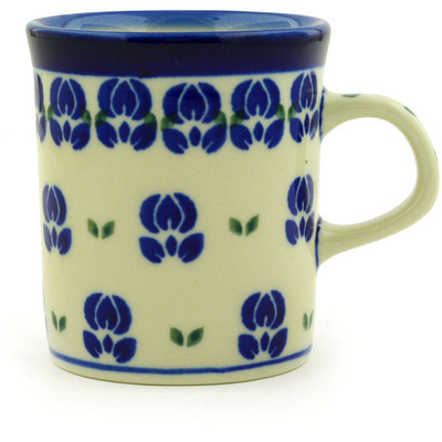 Polish Pottery 5 oz Mug | Boleslawiec Stoneware | Polmedia H6634D