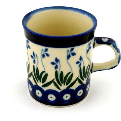 Polish Pottery 5 oz Mug | Boleslawiec Stoneware | Polmedia H0575B