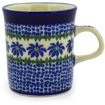 Polish Pottery 5 oz Mug | Boleslawiec Stoneware | Polmedia H4148D