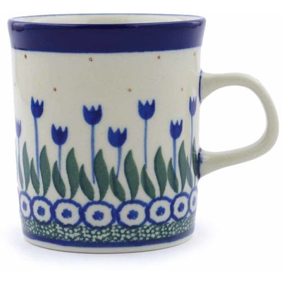 Polish Pottery 5 oz Mug | Boleslawiec Stoneware | Polmedia H0493J