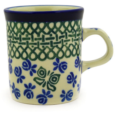 Polish Pottery 5 oz Mug | Boleslawiec Stoneware | Polmedia H3870D
