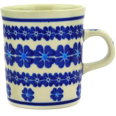 Polish Pottery 5 oz Mug | Boleslawiec Stoneware | Polmedia H1660E