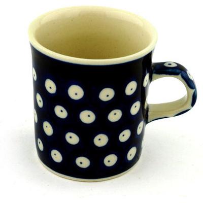 Polish Pottery 5 oz Mug | Boleslawiec Stoneware | Polmedia H0182B