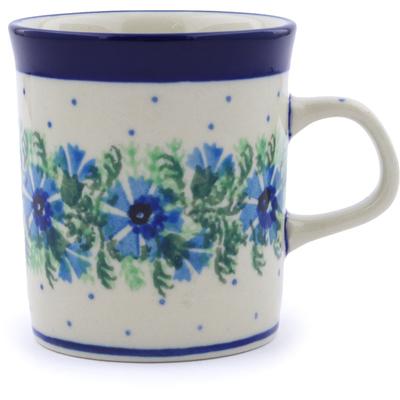 Polish Pottery 5 oz Mug | Boleslawiec Stoneware | Polmedia H6579B