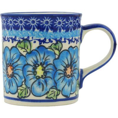 Polish Pottery 8 oz Mug | Boleslawiec Stoneware | Polmedia H1224H