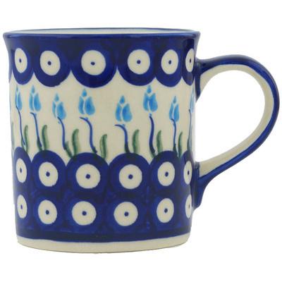 Polish Pottery 8 oz Mug | Boleslawiec Stoneware | Polmedia H1216H