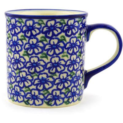 Polish Pottery 8 oz Mug | Boleslawiec Stoneware | Polmedia H1945G