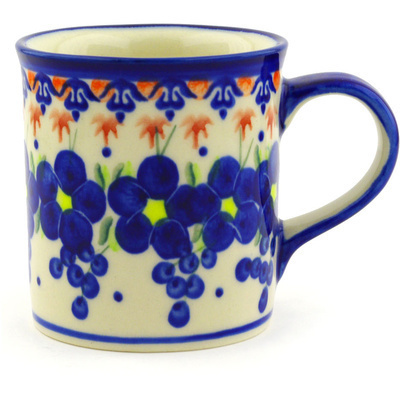 Polish Pottery 8 oz Mug | Boleslawiec Stoneware | Polmedia H1970G