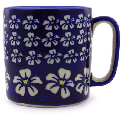 Polish Pottery 12 oz Mug | Boleslawiec Stoneware | Polmedia H7345I