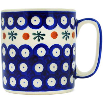 Polish Pottery 12 oz Mug | Boleslawiec Stoneware | Polmedia H3534E